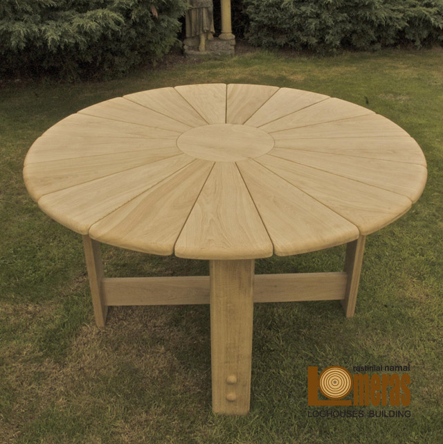 furniture made of natural wood